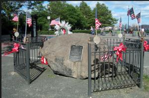The Hoboken Memorial Boulder